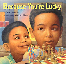 Because You're Lucky Cover art by Michael Hays ©2010