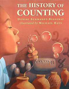The History of Counting Cover art by Michael Hays ©2010