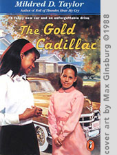 The Gold Cadillac Cover art by Max Ginsburg