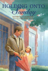 Holding on to Sunday Cover art by Michael Hays ©2010