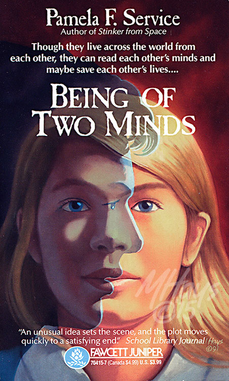 Being of Two Minds Book Jacket Art by Michael Hays © 2015