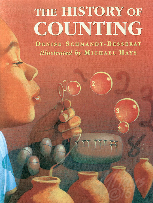 The History of Counting Book Jacket Art by Michael Hays © 2015