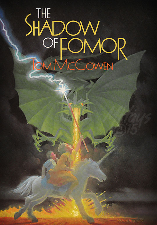 The Shadow of Fomor Book Jacket Art by Michael Hays © 2015