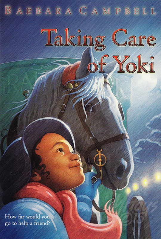 Taking Care of Yoki Book Jacket Art by Michael Hays © 2015